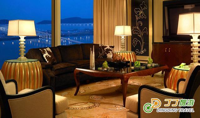 酒店中式家具会客厅